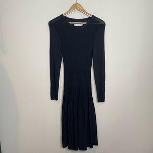 Textile Elizabeth & James Black Heavy Knit Dress
